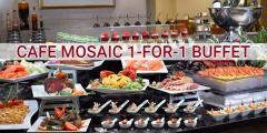 Carlton Hotel - Cafe Mosaic 1-for-1 Buffet Promotions for 2019 |
