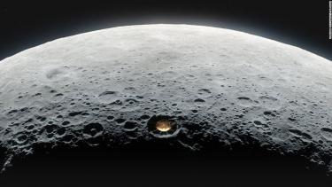 Lunar telescope could reveal the Dark Ages of the universe